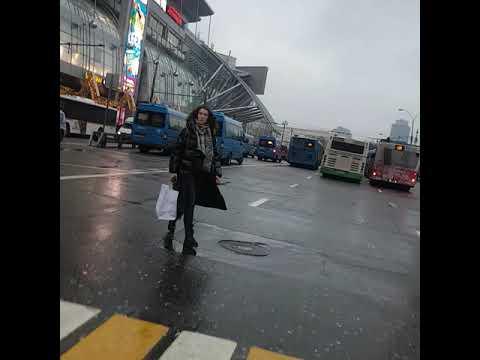 метро Киевская выход к ТЦ Европейский Москва 5 марта 2019 г.