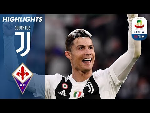 Juventus 2-1 Fiorentina | Juventus Clinch 8th Consecutive Scudetto! | Serie A