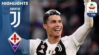 Juventus 2-1 Fiorentina | Juventus Clinch 8th Consecutive Scudetto! | Serie A