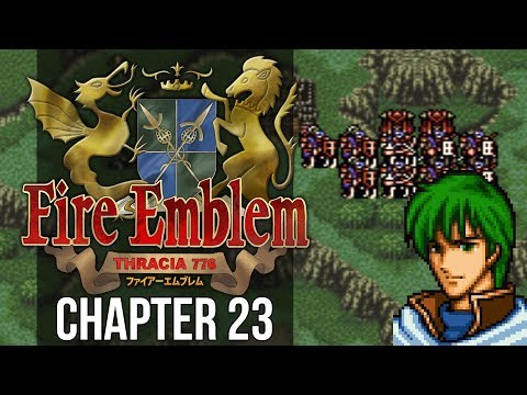 Fire Emblem: Thracia 776 :: Chapter 23 :: Palace of Evil