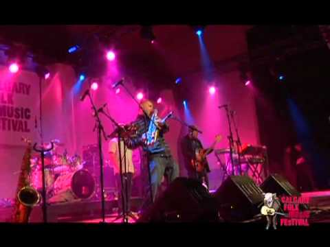 "The Herbaliser performs ""Battle of Bongo Hill"" live at Calgary Folk Music Festival 2011"