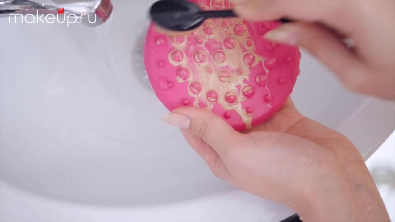 как почистить кисточку для тонального крема