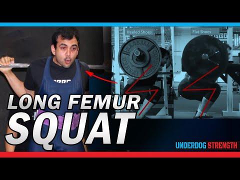 Long Femur Squat   How to Squat Deeper If You Have Long Legs