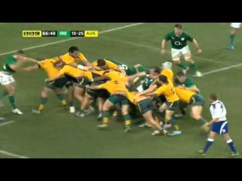 Analysis: Wallabies vs Ireland 2013