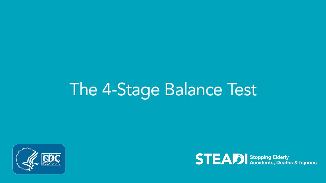 The 4-Stage Balance Test