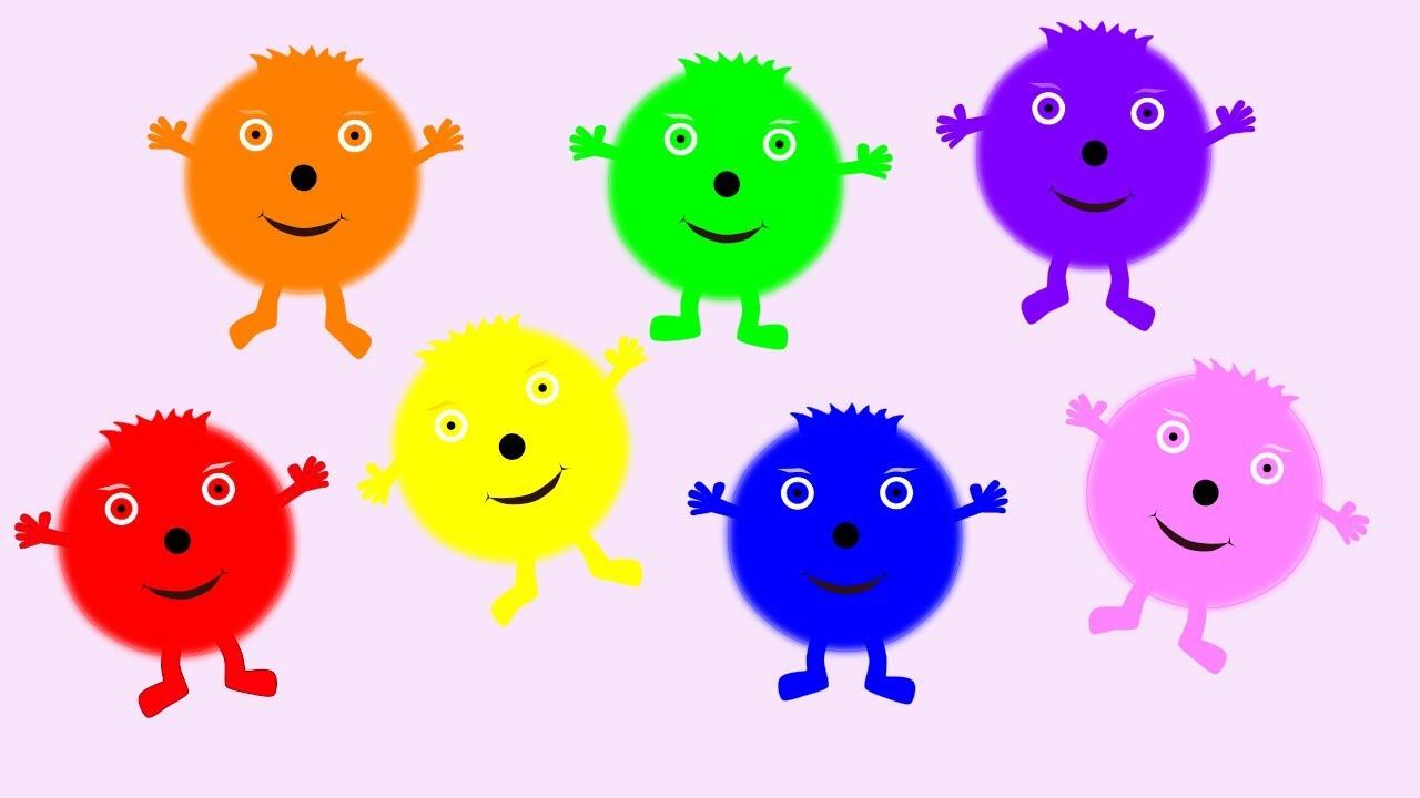 The Colourbubblies Song