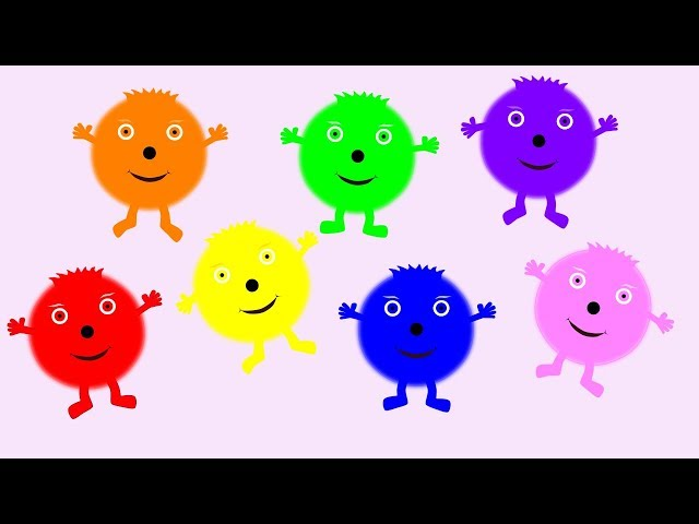 The Colourbubblies Song Videos For Kids