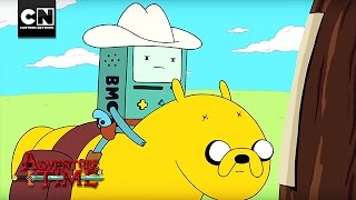 BMO's Cowboy LARP | Adventure Time | Cartoon Network