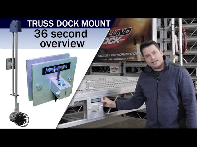 Aqua Thruster Truss Dock Side Mount Overview Video | Weeders Digest
