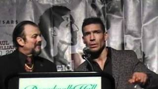 SERGIO MARTINEZ VS PAUL WILLIAMS II POST PRESS CONFERENCE