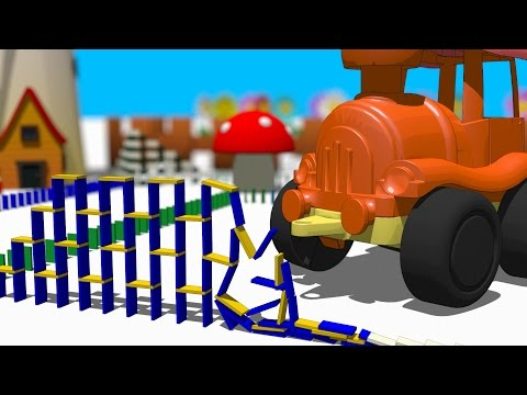 VIDS for KIDS in 3d (HD) - Dominos for Children 10  - AApV