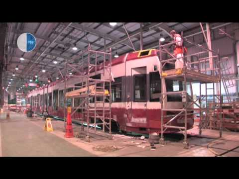 Stewart Signs Rail - Tram Wrapping Case Study: London Tramlink