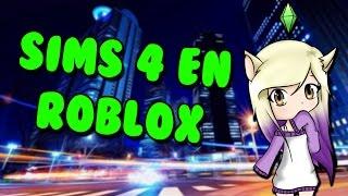 THE SIMS 4 IN ROBLOX Bloxburg in Spanish