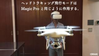 ゴーグルのトラッキングをファントム4プロで試す DJI Phantom 4 Pro DJI Goggles first impression