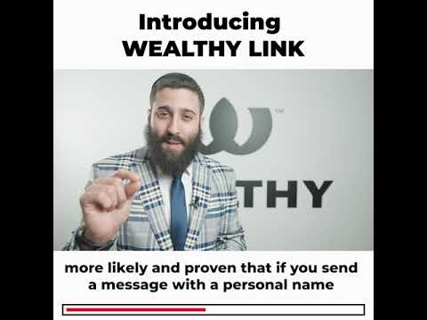 Wealthy Link - The World's Most Powerful LinkedIn Sales Building Service.