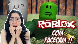 Roblox with Facecam-Mirelle is passed out!! (Escape The Haunted Cemetery Obby V. 2)