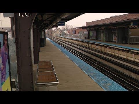Chicago looks deserted