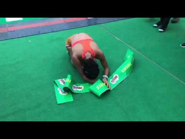 Emotional Tabal makes history, wins 5th straight Milo Marathon