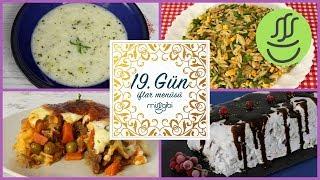Ramazan 19. Gün İftar Menüsü: Sultan Kebabı - Yayla Çorbası - Şehriye Salatası - Halleyli Pasta