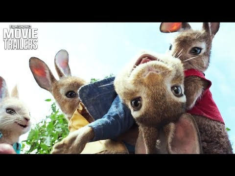 PETER RABBIT | James Corden goes bunny wild in first trailer for live-action animated comedy