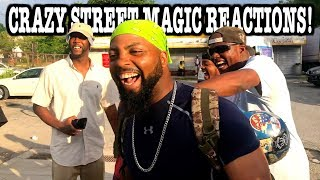 Crazy Street Magic Funny Reaction!   Stapleton Staten Island, NY