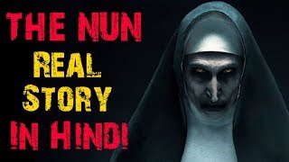 THE NUN Real Story In Hindi || Horror Video || Horryone ||