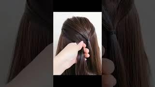Как сделать ЛЕГКУЮ И БЫСТРУЮ прическу на каждый день EASY AND FAST hairstyle for every day
