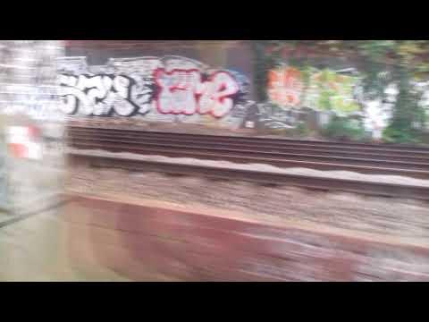 Train ride from east croydon to st Pancras international 25.10.17
