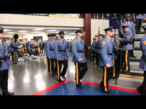 New Jersey State Police graduation ceremony 2016