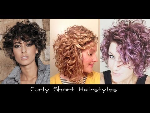 Short Curly Hairstyles For Round Faces Black Women 2018 Youtube