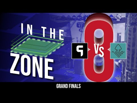 Splatoon 2 - In The Zone 8 Ghost Gaming vs. Kraken Paradise [Grand Finals]