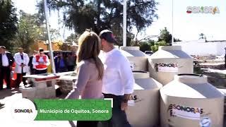 Ahora desde el municipio de #Oquitoa con entrega de #Apoyos y #Becas ✅