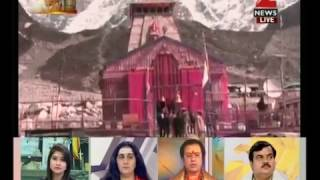 Sacred portals of Kedarnath temple opened for devotees today