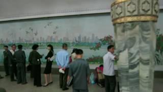 COREE DU NORD : Le ROYAL métro de Pyongyang