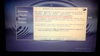 Cómo hacer una recuperación del sistema a un ordenador portátil