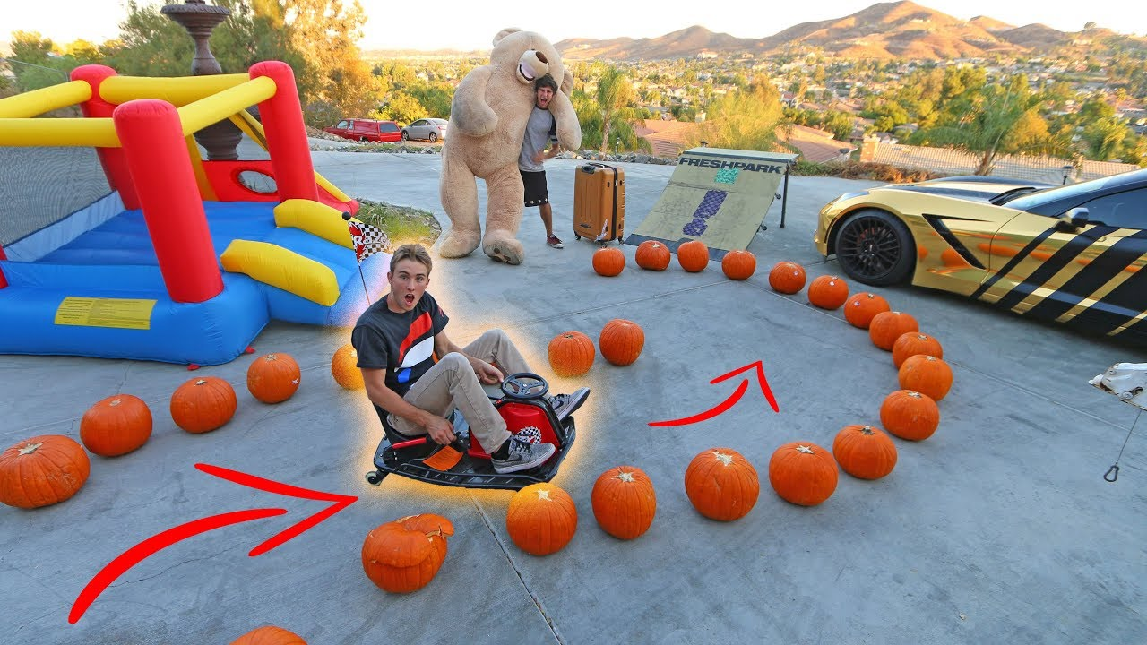 drift-cart-obstacle-course-super-funny