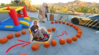DRIFT CART OBSTACLE COURSE! *SUPER FUNNY*