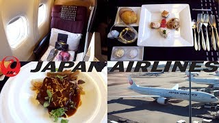 JAPAN AIRLINES BUSINESS CLASS REVIEW (JAL SKY SUITE) B777-300ER