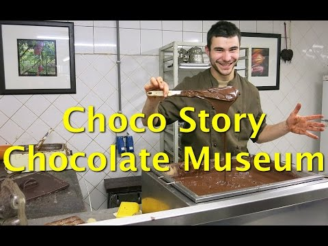Things To Do In Brussels – Visit The Choco-Story Chocolate Museum