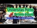UNIVERSIDADE PORNO- Universitas Porno Pertama di Dunia Resmi Dibuka di Kolombia
