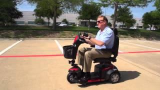 Drive Ventura Three Wheel Deluxe Scooter