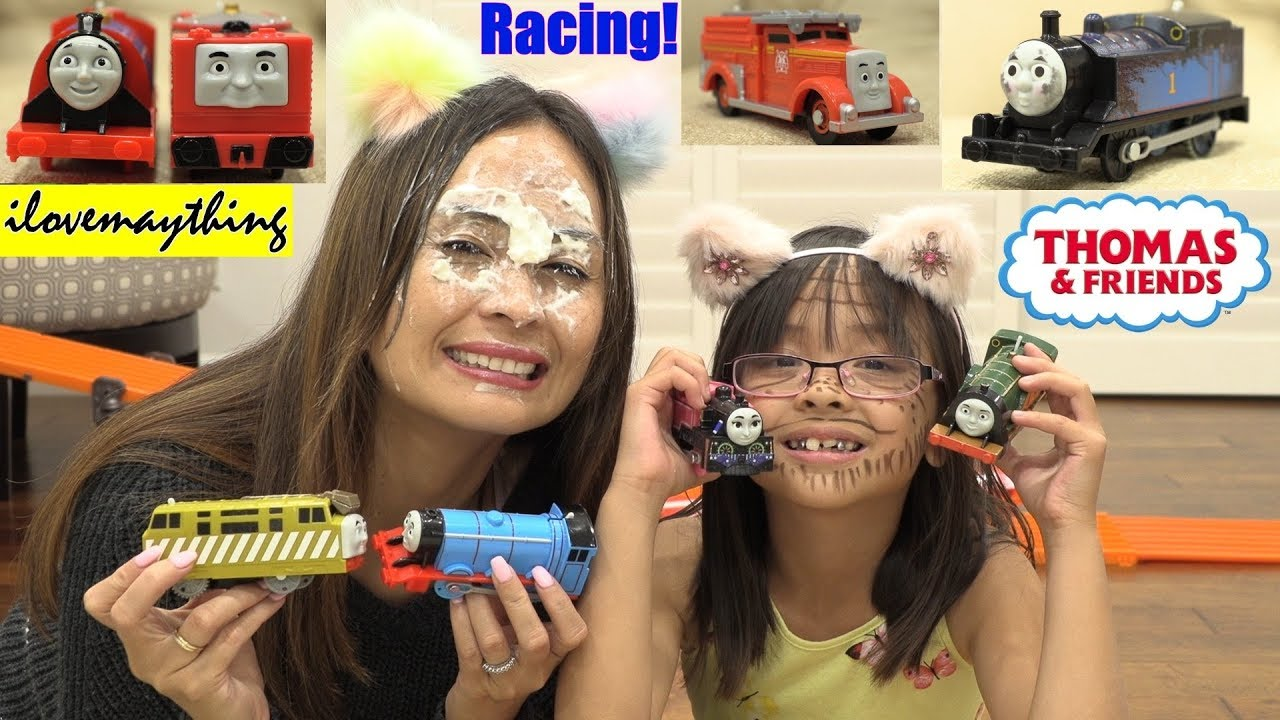 Kids Toy Racing Playtime Thomas The Tank Engine And Friends Racing Racing Toy Trains Toy Channel