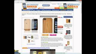 AccessoryGeeks TPhone iPhone 4, 4S Teak Brown Hard Wood Back Cover Case Product Review