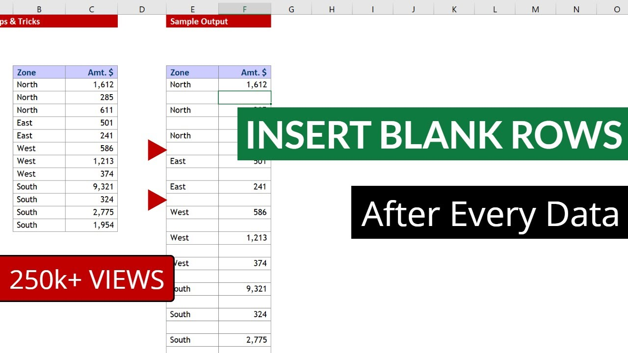 Solved) Error in Excel insert column or row in Excel