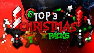 Top 3 Best Minecraft Christmas PVP Texture Packs 2019