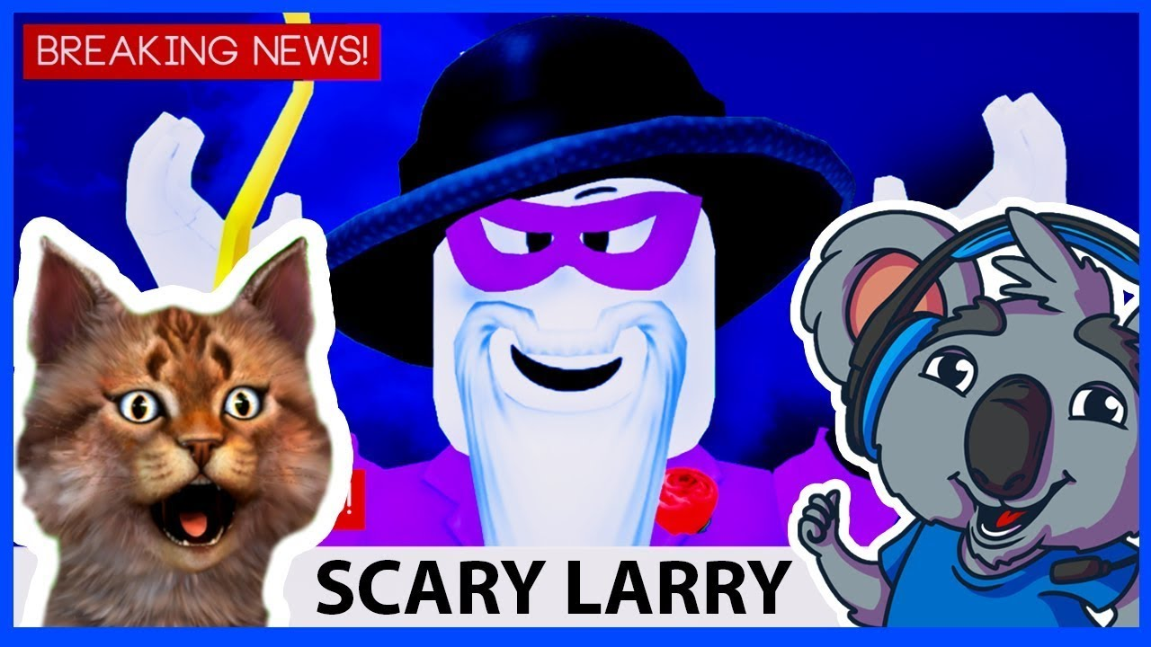 Scary Larry Tried To Scare Me But Look What Happened !! - Roblox Break In