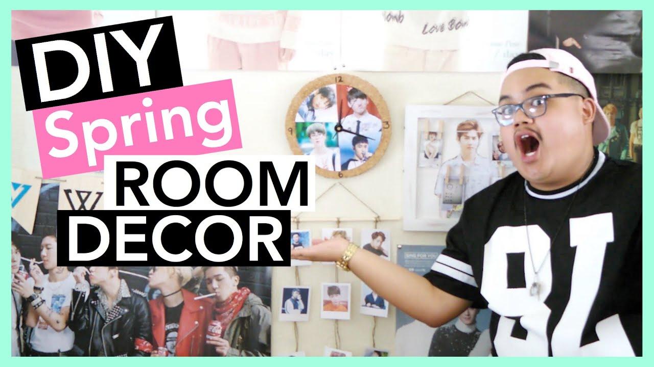 DIY KPOP Spring Room Decor (EXO, BTS,etc.) | KPOPAMOO ... on Room Decor Bts id=32518