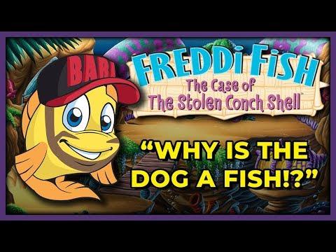 KaiserNeko Plays Freddi Fish 3: The Case Of The Stolen Conch Shell! | TFS Gaming