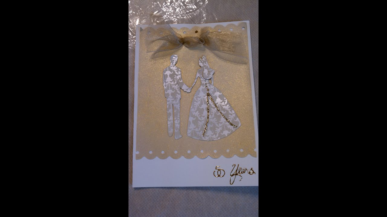 Handmade Wedding Invitation or Anniversary Card YouTube