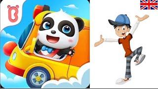 ARABA SÜRME - Çocuk Oyunları - Bebek Pandanın Okul Otobüsü Türkçe Altyazı screenshot 3